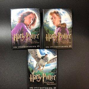 Three Harry Potter, Prisoner of Azkaban buttons!
